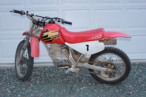 Get started on this great Honda XR100 trail bike
