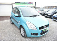 Suzuki Splash 1.3DDiS 5 DOOR DIESEL +BEAUTIFUL THROUGHOUT+