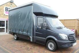 2015 MERCEDES SPRINTER 313 CDI LWB 14FT CURTAIN SIDE BOX CURTAIN SIDE DIESEL