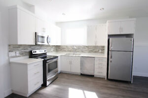 New 3 bedroom, 2 bathroom suite with high end appliances.