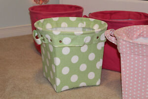 Pottery Barn Kids Canvas Storage Buckets - $30, $20 Belleville Belleville Area image 3