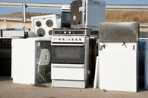 Old appliances removed for free in Niagara Falls