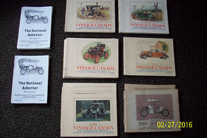 VINTAGE OBSOLETE CANADIAN CAR MAGAZINES