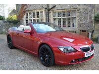 BMW 650 4.8 auto 2006 i Sport, 117K MILES, FULL S/HISTORY, NEW MOT 2 OWNERS