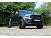 2020 Ford Ranger 2.0 Bi-turbo Limited 10 speed with black leather Auto Pick Up D