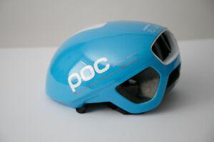 POC Octal Aero AVIP Helmet Blue Medium NEW!