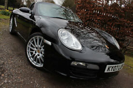 Porsche Boxster 978 2.7 2007 Manual PR LADY OWNER 7RS FPSH