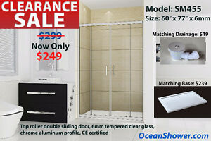 Raise Your Home Value with Frameless Tempered Glass shower Door