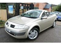 2004 (04 Plate) Renault Megane 1.6 Privilege VVT Gold CC Cambelt Changed Auto Co