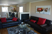 Luxueux condo 4 ½ meublé / Luxurious condo 4 ½ fully furnished