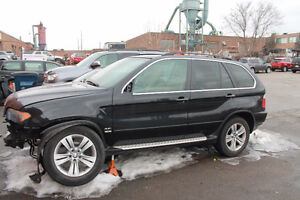 PARTING OUT 2005 BMW X5 4.4 Black 200t.km