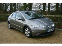 Honda Civic 1.8i-VTEC SE done 110105 Miles with Good SERVICE HISTORY and NEW MOT