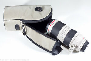 Professional Canon 70-200mm f2.8 L Lens With Carrying Case