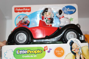 Auto Fisher-Price de ... Cruella!