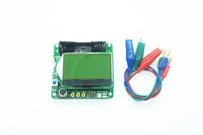 New M328 Transistor Tester Lcr Capacitance Esr Meter Test Clip
