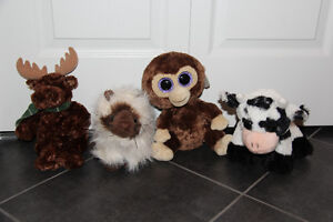 Various name-brand stuffed animals in like-new condition Cambridge Kitchener Area image 1