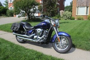 Mint Condition Kawasaki Vulcan 900 Classic - Low KMS! Cambridge Kitchener Area image 3