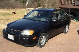 2006 Hyundai Accent - motivated to sell