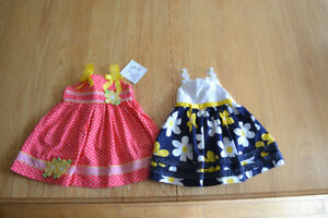 Baby girls' dresses - size 18 months
