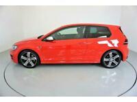 2015 RED VW GOLF R 2.0 TSI 300 4MOTION DSG 3DR HATCH CAR FINANCE FR £273 PCM