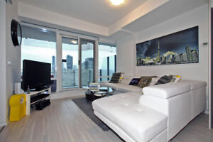 ***FULLY FURNISHED 1 bedroom at ONE BLOOR***