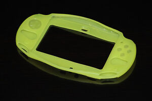 PS VITA 2000+3000-CONSOLE-SILICONE PROTECTOR-JAUNE/YELLOW (NEW)