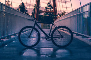 Premium fixed/single speed blacked out bike