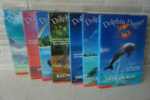 """7 YOUNG ADULT """"DOLPHIN DIARIES"""" SOFT COVER BOOKS~$2.89 EACH"""