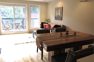 Joli condo meublé : Furnished Condo Griffintown/Sud-Ouest