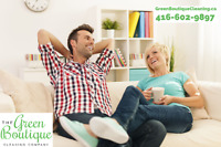 Professional Burlington's Green Cleaning Services!