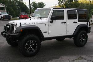 Rent a White Jeep Wrangler/Rubicon