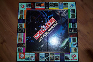 Limited Edition Star Wars Monopoly Complete with 9 Figures Cornwall Ontario image 2