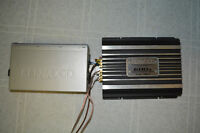 Kenwood 600 watts car amplifier with free 6 CD changer