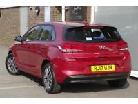 2017 Hyundai i30 1.6 CRDi (109ps) SE Nav Diesel red Manual