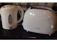 Unused toaster and kettle