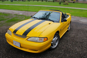1995 MUSTANG GT CONVERTIBLE - UNMOLESTED ORIGINAL CAR!
