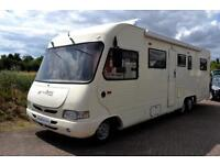 Machzone Ultra A Class Motorhome for Sale 4 Berth fixed bed Towbar Fiamma Awning