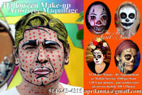 Halloween Make-up Services - 21 Years Experience