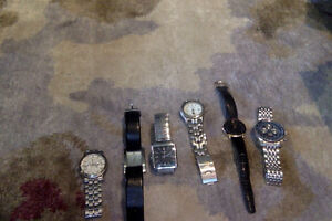 6 watches for sale