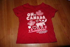 Joe Fresh Size 1 O Canada Tee