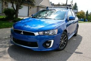 2017 Mitsubishi Lancer Sportback -- fully loaded, mint condition