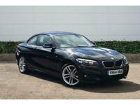2014 BMW 2 Series 220d M Sport 2dr Coupe Manual Coupe Diesel Manual