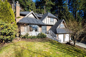One Owner Custom Built Traditional  5 BR Home in North Van