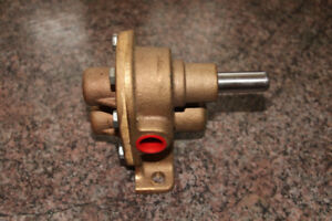 Brass Gear Pump, New, Never Used