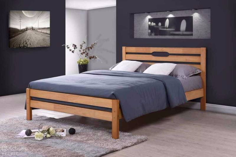 Brand New Oak Timber Queen and Double Bed Frame   Beds   Gumtree ...