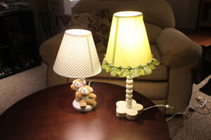 2 Lamps for Babies room
