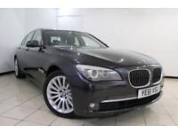 2012 61 BMW 7 SERIES 3.0 730D SE 4DR AUTOMATIC 242 BHP DIESEL