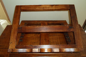 Rare Antique Wood Missal Bible Book Holder