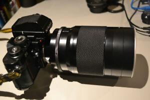 Objectif / lens Nikkor C 500mm f/8 monture AI