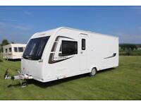 Lunar Clubman SI 4 Berth Touring Caravan 2014